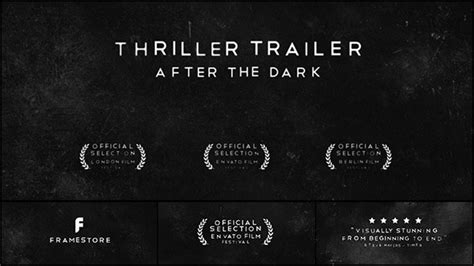 Best Horror Halloween After Effects Templates Envato Forums Horror Trailer Template Free