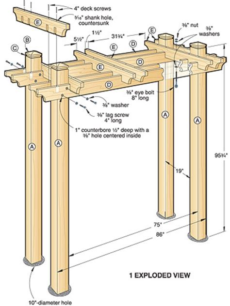 news  article garden arbor woodworking plans