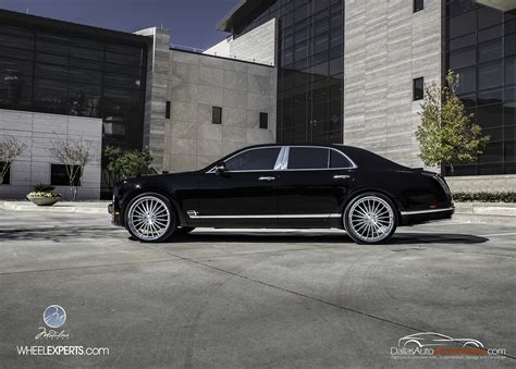 bentley mulsanne custom bentley mulsanne custom wheels modulare m20 24x10 0 et