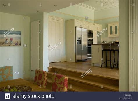 Living Room Dining Room Split Modern Split Level Dining Room With Steps Up To Kitchen