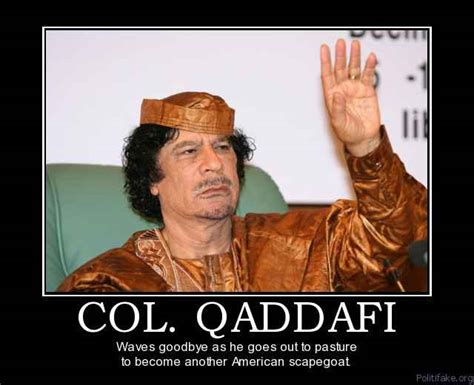Gaddafi Meme - co worker goodbye poster sayings just b cause