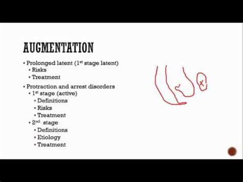 obstetrics  induction augmentation  labor