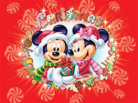 wallpaper de natal disney disney cast a festa natalina do mickey