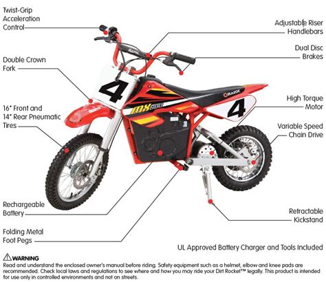 razor dirt rocket electric motocross bike razor mx500 dirt rocket 500 watt 36v electric motocross bike