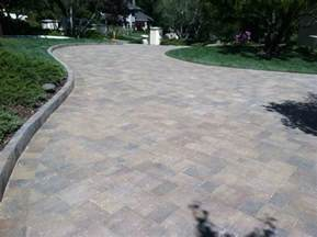 Belgard Patio Pavers Belgard Slate Paver Driveway With Anglia Edging In Color Mediterranean