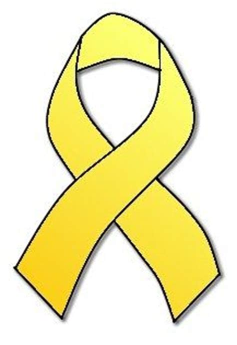bone cancer ribbon color bone cancer ribbon color vector yellow awareness ribbon