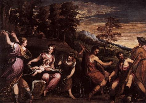 Andrea schiavone the marriage of cupid and psyche summary