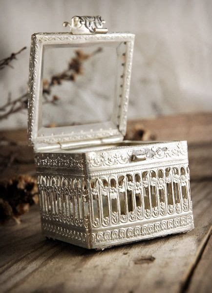 crates bins trays cool photography vintage ring box