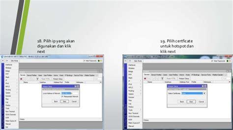 membuat password hotspot dengan mikrotik cara membuat hotspot dengan mikrotik di virtualbox