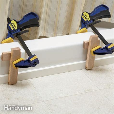 how to clean a vinyl bathtub how to fix vinyl flooring family handyman