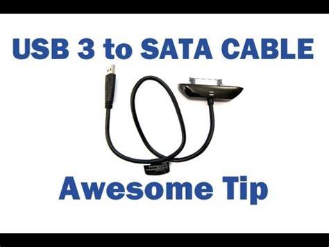 Slim Line Sata Cable Hq slimline slim sata to usb 3 0 cable connect laptop