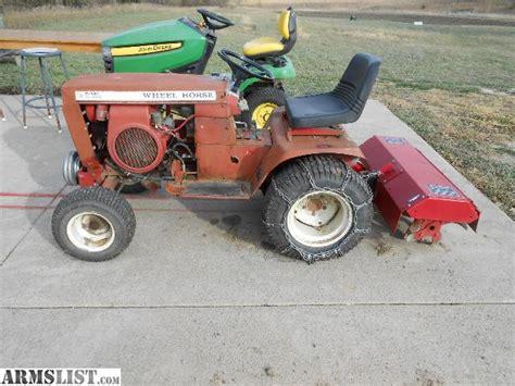 garden tractor attachments armslist for sale trade wheel garden tractor w attachments