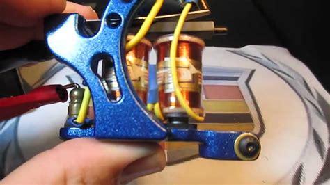 tattoo machine keeps stopping custom hand made eikon build tattoo machine liner youtube