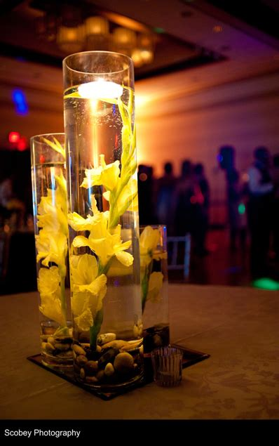 wedding centerpiece rental from a rented event