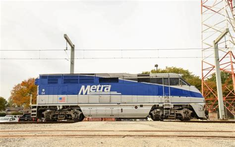 Metra F59PHIs get ready for service   Trains Magazine