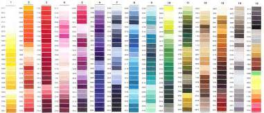 coats and clark thread color chart coats clark embroidery thread color chart motorcycle