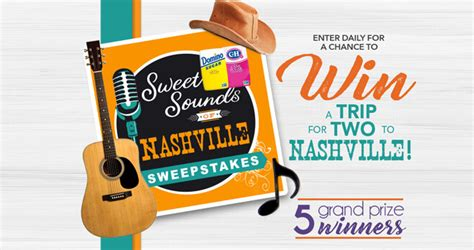 Domino Sugar Sweepstakes - domino c h sugar sweet sounds of nashville sweepstakes