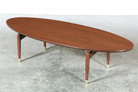 floating coffee table mid century floating top walnut coffee table vintage
