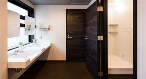 what is a shared bathroom in a hostel the drop inn cafe a minimalist hostel in tottori japan design milk