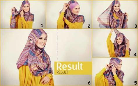 Kreasi Cara Berjilbab Segi Empat tentang semua cara memakai jilbab segi empat kreasi