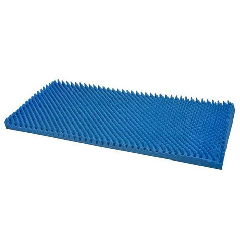 dmi foam bed wedge in blue 802 8026 0100 the home depot
