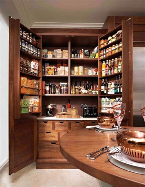 Kitchen Pantry Cabinet Ideas by Pantry Cabinets To Utilize Your Kitchen Custom Home Design