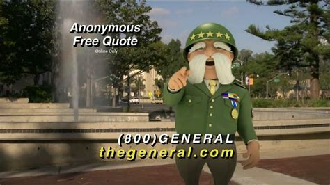 general tv spot street quotes ispottv