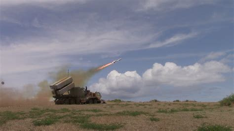 land based missile launch performed  rimpac