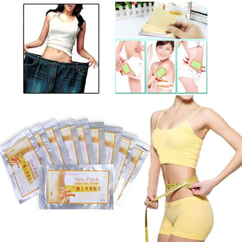 Detox Patches On Stomach by 100pcs Slim Patches Diet Slimming Fast Loss Weight Burn