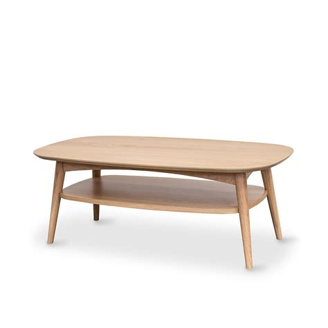 oslo coffee table with shelf furniture by design fbd