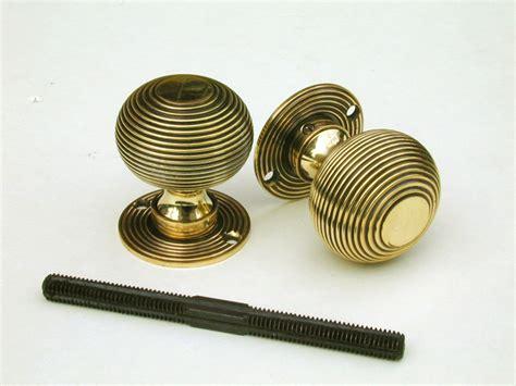 Beehive Door Knob by 59mm Beehive Door Knobs Brass