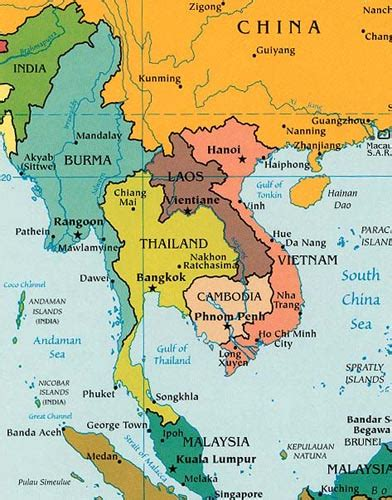 southeast asia political map southeast asia political map 2003