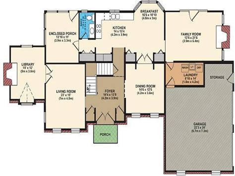 open floor plan farmhouse plans best open floor plans free house floor plans house plan