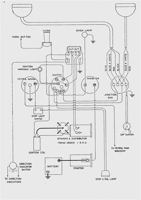 citroen 2cv wiring diagram citroen 2cv ignition wiring