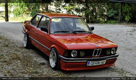 is bmw german bmw e21 german for a day