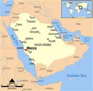 Saudi Arabia World Map by Location Of Saudi Arabia In World Map