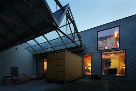 belgian warehouse   unconventional makeover