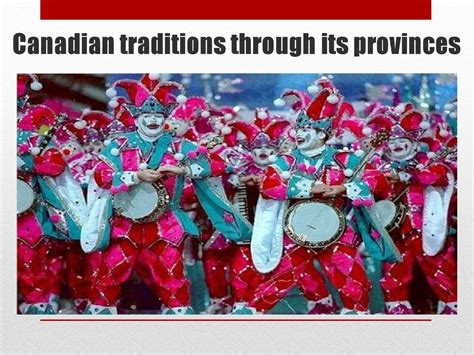 canadian traditions презентация онлайн