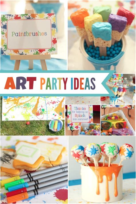 art themed events a picasso inspired boy s art themed birthday party