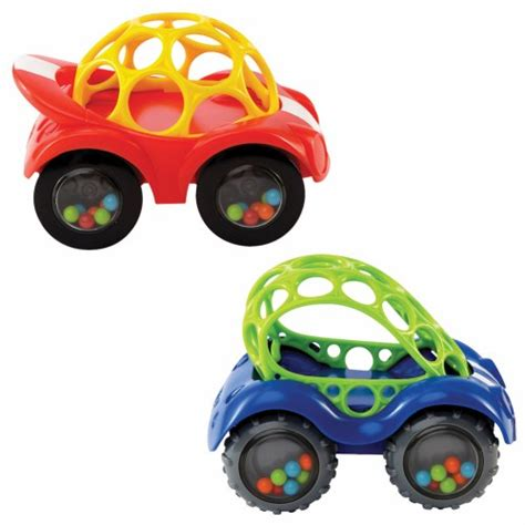 Oball Auto by Oball Rattle Roll Car Set Set Of 2 By Toysmith