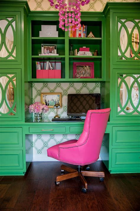 decorating with pink and green town country living