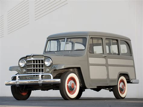 53 Willys Jeep Willys Jeep Station Wagon 1950 53