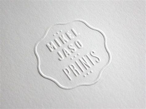 Blind Emboss St 146 best images about letterpress emboss on hang tags behance and cards