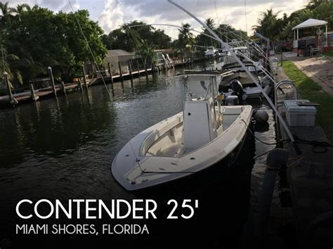 contender boats dealer portal for sale used 2000 contender 25 tournament in miami