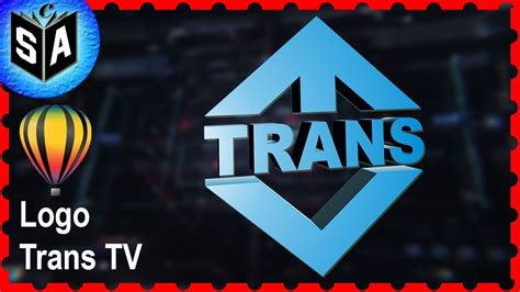 tutorial membuat logo tv one membuat logo trans tv tutorial coreldraw youtube