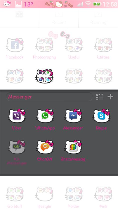 hello kitty themes blogspot pretty droid themes hello kitty theme v1 for go launcher