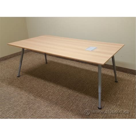 Ikea Meeting Table Conference Tables Ikea Ikea Grimle White Table Desks Bekant Birch Veneerblack X Cm Ikea