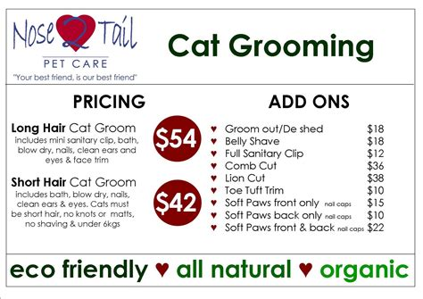 petsmart grooming prices nose 2 pet care news cat grooming prices