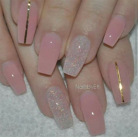 Nail And More by 25 Best Ideas About Pink Sparkle Nails On