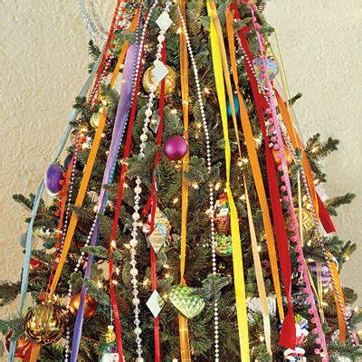 vertical ribbon on christmas tree cascading ribbon tree pictures photos and images for and